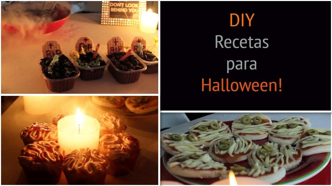 Recetas para Halloween - DIY