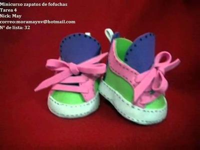 Zapatos Para Muñecas Fofuchas Foami Gomaeva Artfoamicol