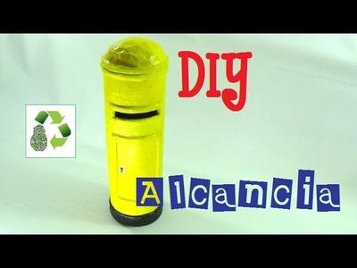 170. DIY ALCANCIA BUZON (RECICLAJE DE TUBO DE CARTON)