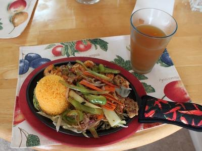 ARROZ CHINO frito con camarón. pasito a pasito.
