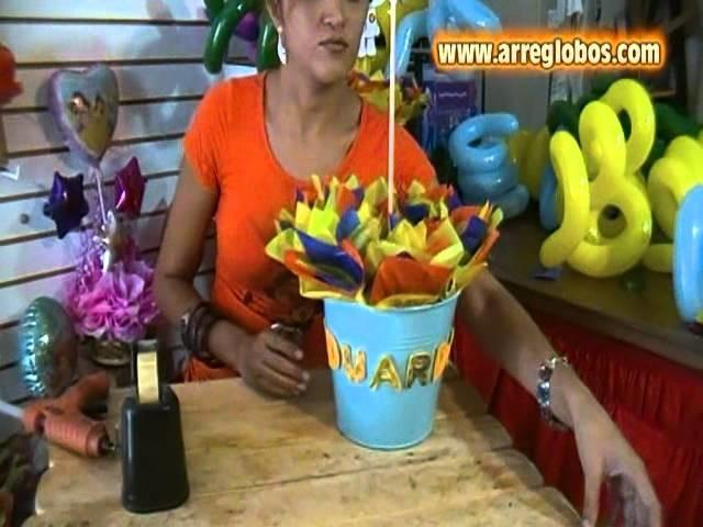 Centro de Mesa Doky www.arreglobos.com