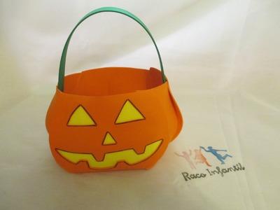 Cesta Halloween con Goma Eva (www.racoinfantil.com)