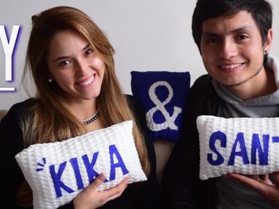 Cojines para Dummies! ♥ (DIY) | Kika Nieto