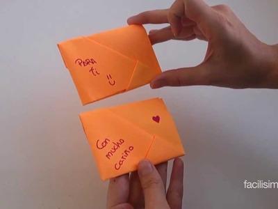 Cómo doblar una carta de manera especial | facilisimo.com