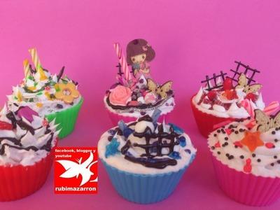Como hacer Cupcakes con decoden
