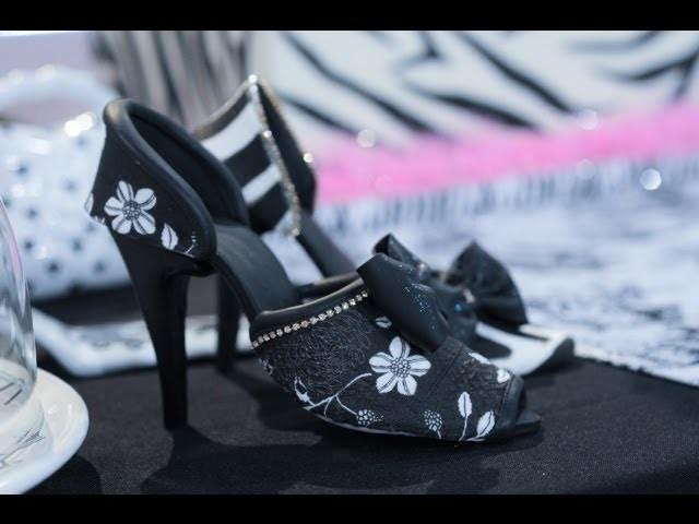 Como hacer modelado en azúcar - Zapatos y Cartera fashion