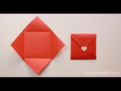 Cómo hacer sobres de papel originales