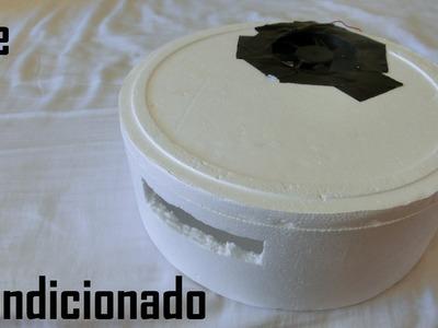 Cómo hacer un aire acondicionado casero - Chindas12