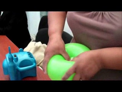 Cómo hacer un payaso con globos