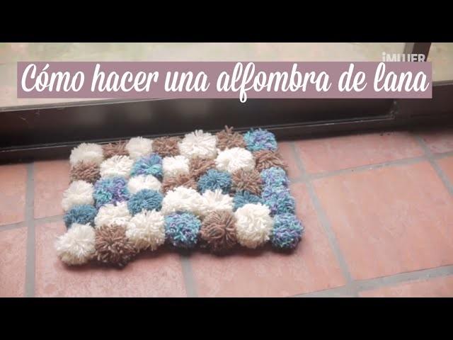 Cómo hacer una alfombra de lana | manualidades con lana | iMujer Hogar