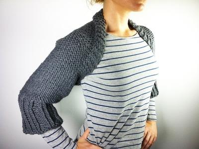 Cómo hacer una chaquetilla con telar circular (Tutorial DIY)