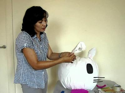 Cómo hacer una piñata (parte 2)
