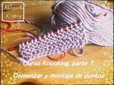 Curso Knooking parte 1: comenzar y montar puntos (diestro)
