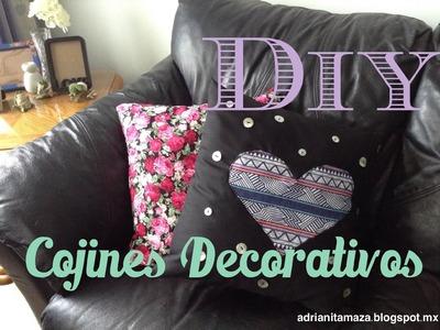 DIY Cojines Decorativos ♥ Adrianita Maza