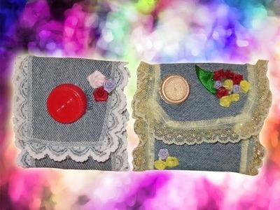 DIY Cómo hacer  lindos monederos hechos de tetrapak