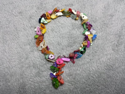DIY COMO HACER UNA  PULSERA MULTICOLOR - HOW TO MAKE A MULTICOLOR BRACELET