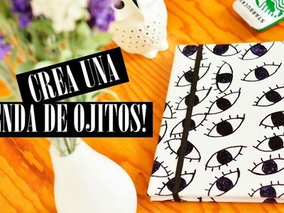 DIY-CREA UNA AGENDA.REGRESO A CLASES 2015