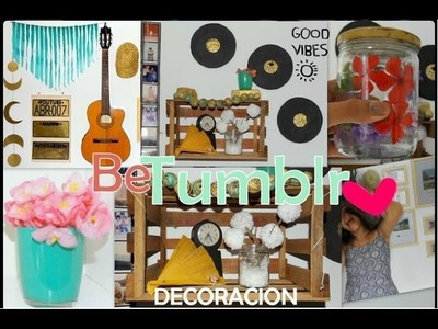 DIY: DECORA TU CUARTO! ✿ [ 9 Ideas Fáciles] ♥ Be Tumblr ♥
