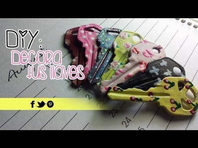 DIY: Decora tus llaves