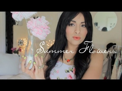 DIY♡ Flores de papel&florero!