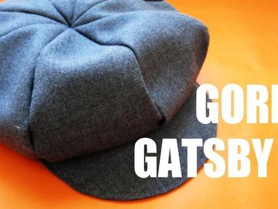 DIY: Gorra Gatsby