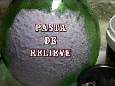 DIY PASTA DE RELIEVE PARA MANUALIDADES Y BELENES