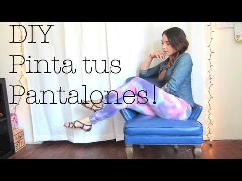 DIY - PINTA TUS PANTALONES!!!