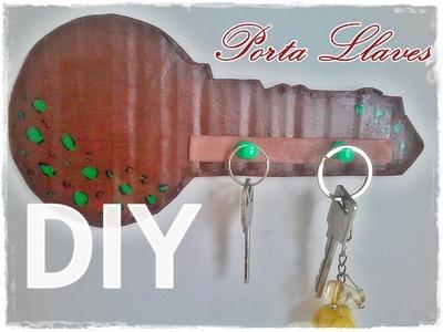 DIY Porta llaves de Cartón Original