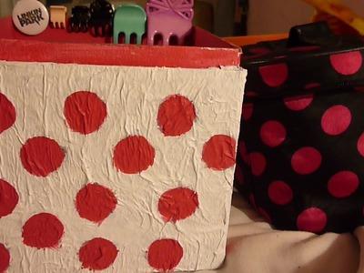 • Como decorar una caja de cartón • (Fácil ♥)