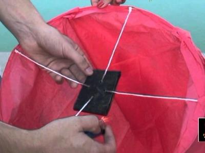 Farolillos voladores BCN - ¿Cómo se utilizan?