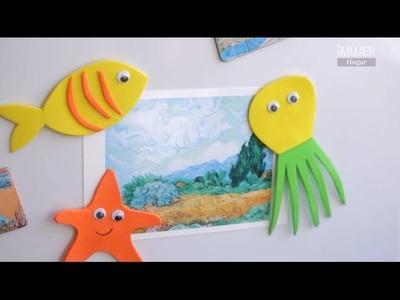 Imanes para decorar tu nevera con aires marinos