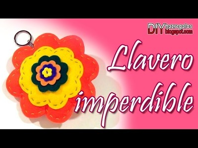 LLAVERO IMPERDIBLE - PARA NO PERDER TUS LLAVES!! DIY