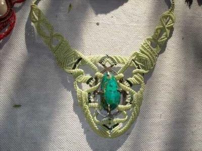 Macrame - collares  y pulseras tipo tribales,