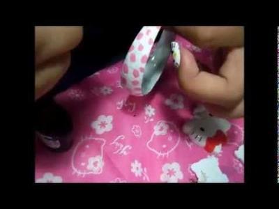 Manualidades: Aretes Grandes De Hello Kitty - JuanCarlos960