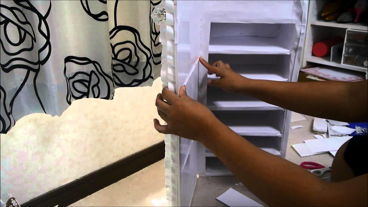 Manualidades: Organizador con espejo - Juancarlos960
