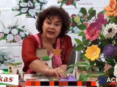 Medianas Moldes de Flores para hacer Arreglos Florales en Fomi, Goma EVA HD