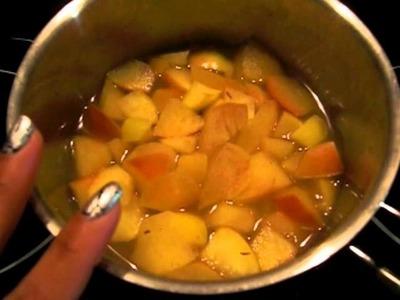 Receta para bebes ░ Compota de manzana