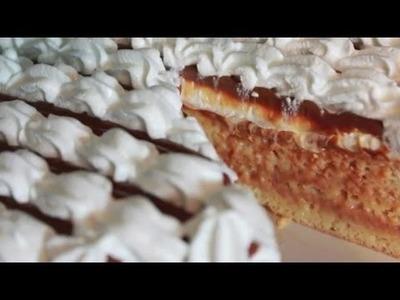 Tarta Tres Leches con Cajeta o Dulce de Leche - Recetas de Tartas