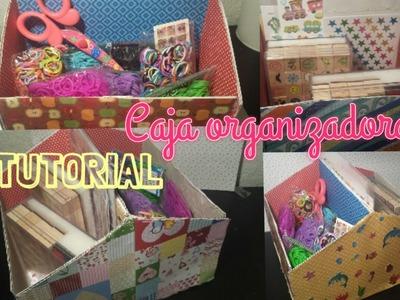 ❤ TUTORIAL: Caja Organizadora para Manualidades (gomitas,hama, etc)❤
