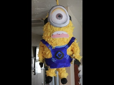 TUTORIAL- Piñata de Minion