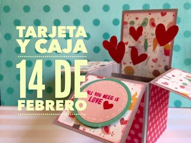 TUTORIAL Regalo Tarjeta San ValentínTarjeta explosiva.Explosive Card