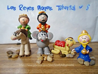 TUTORIAL REYES MAGOS PORCELANA FRIA. COLD PORCELAIN NATIVITY SCENE