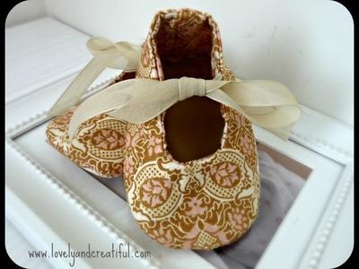 Zapatos de tela para bebé
