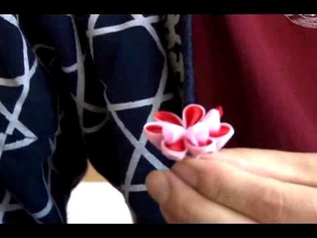 Adornos cabello tsumami kanzashi en VideoTópicos del #Japón por @SpotwebTV #tv #japon