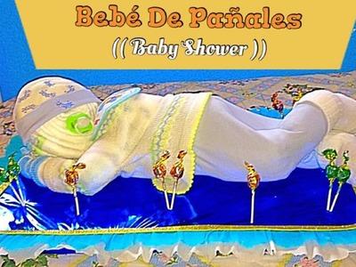 Bebé De Pañales Para Baby Shower