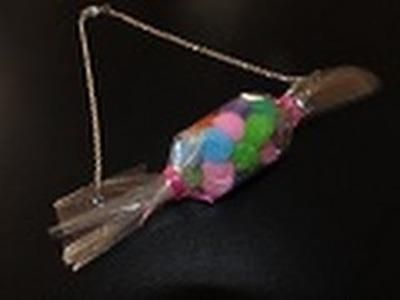 Bisutería: Collar Caramelo!.Colección Be-Different. (Día del niño)