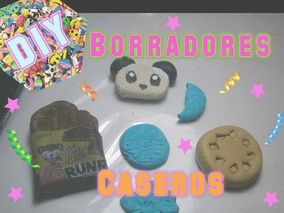 Borradores Caseros Kawaii Como Hacer Goma Moldeable Casera.How to Make Erasers homemade