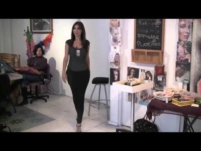 Cómo caminar con tacones y verse sexy- Anastassia Sfeir