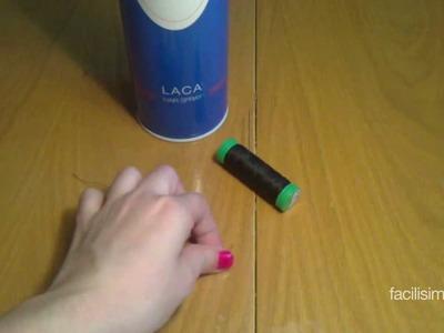 Cómo enhebrar una aguja fácilmente  | facilisimo.com