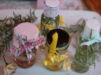 Cómo hacer aceite para el baño o masajes. Regalos de belleza #2
